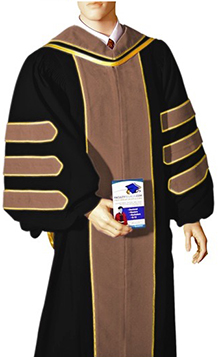 quality academic doctoral graduation regalia for sale such as