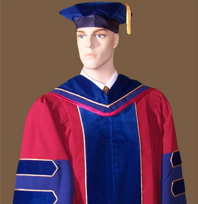 Academic regalia order page. How to order caps and gowns and ...