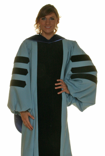 YALE doctor gown