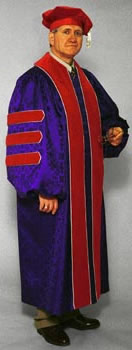 custom made doctoral gown