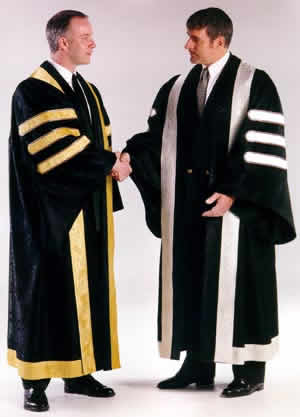 custom doctoral gowns