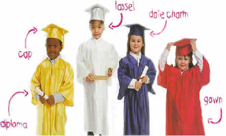 Preschool cap and gown page. Caps Gowns and academic regalia for ...
