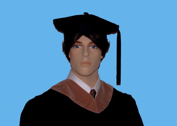 Masters degree holder